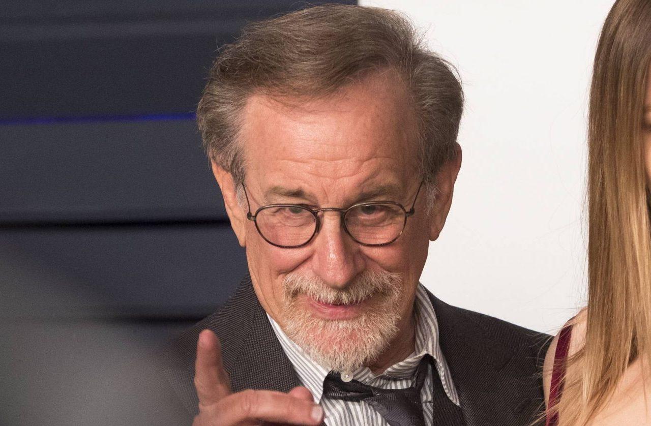 Legendary director Steven Spielberg backs his adoptive daughter as she reveals she's a porn star