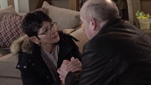 Coronation Street SPOILERS: Geoff to force Yasmeen abroad?