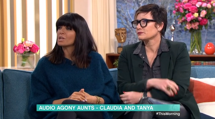 Claudia Winkleman on This Morning