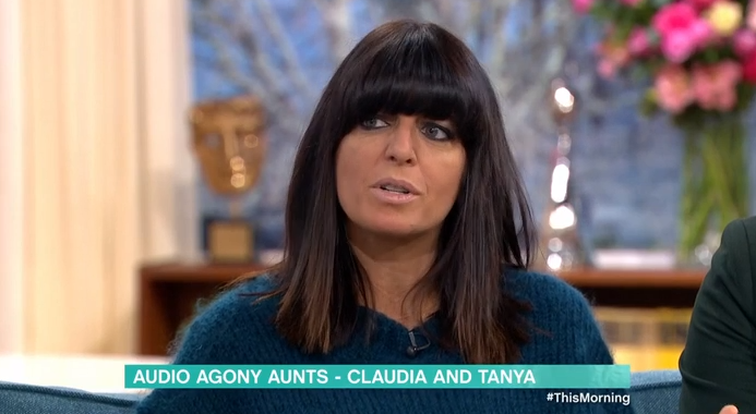 This Morning viewers baffled by Claudia Winkleman's fake tan