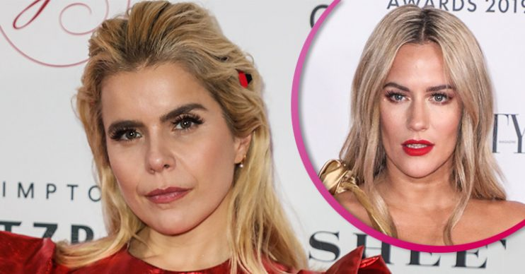 Paloma Faith and Caroline Flack split pic