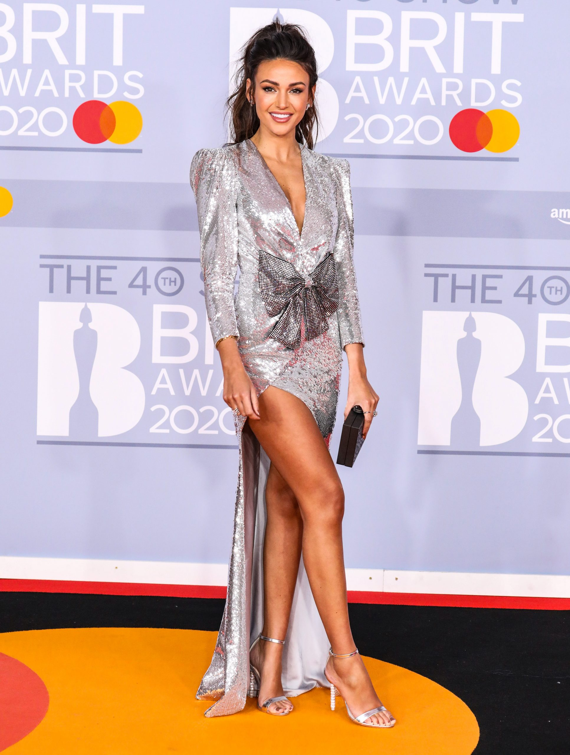 Michelle Keegan at the Brits