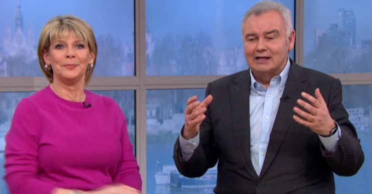 Ruth Langsford and Eamonn Holmes on This Morning