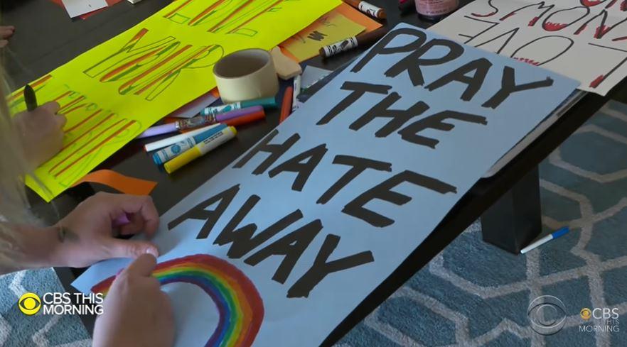 LGBT school protest