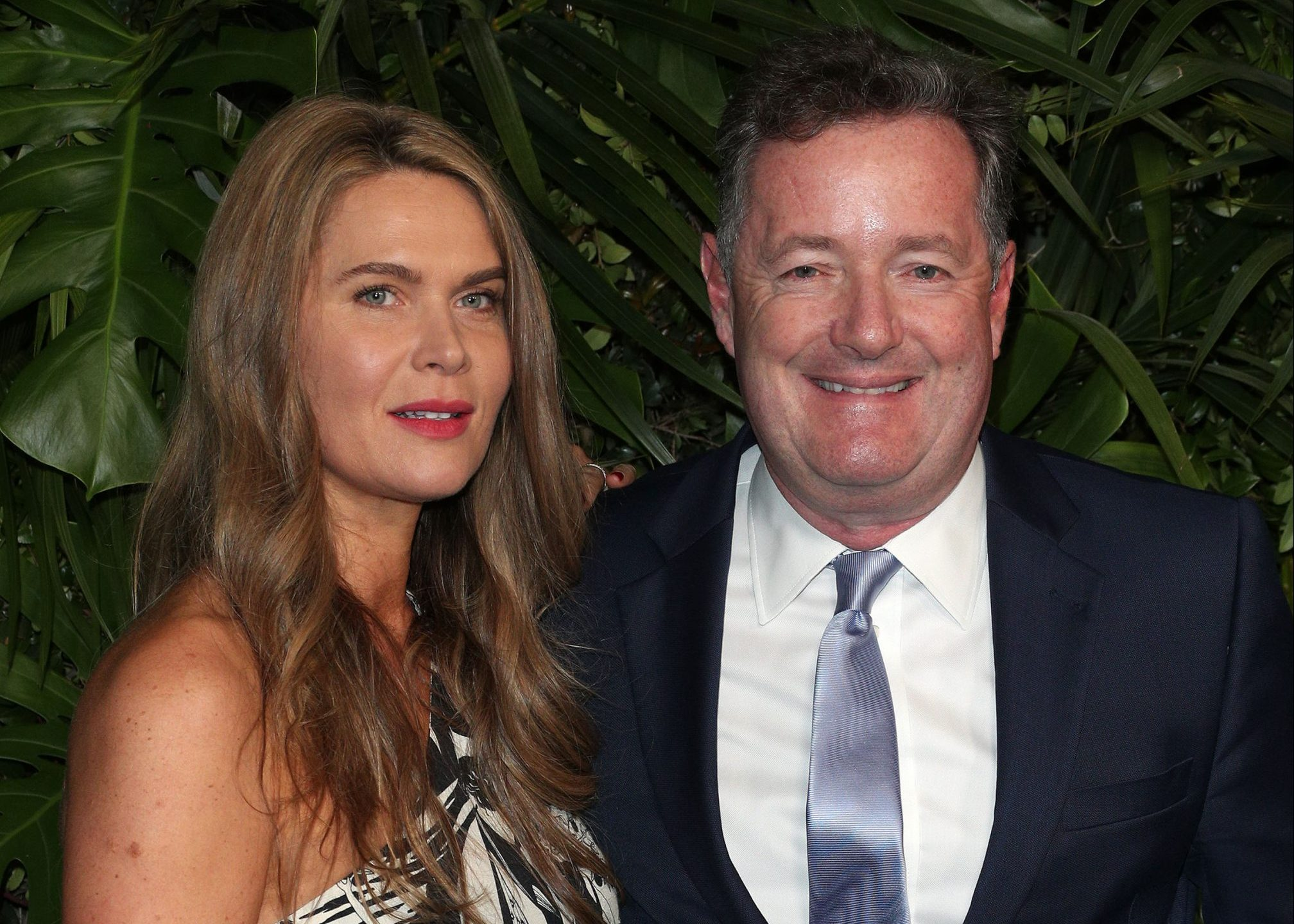 Piers Morgan and wife Celia Walden