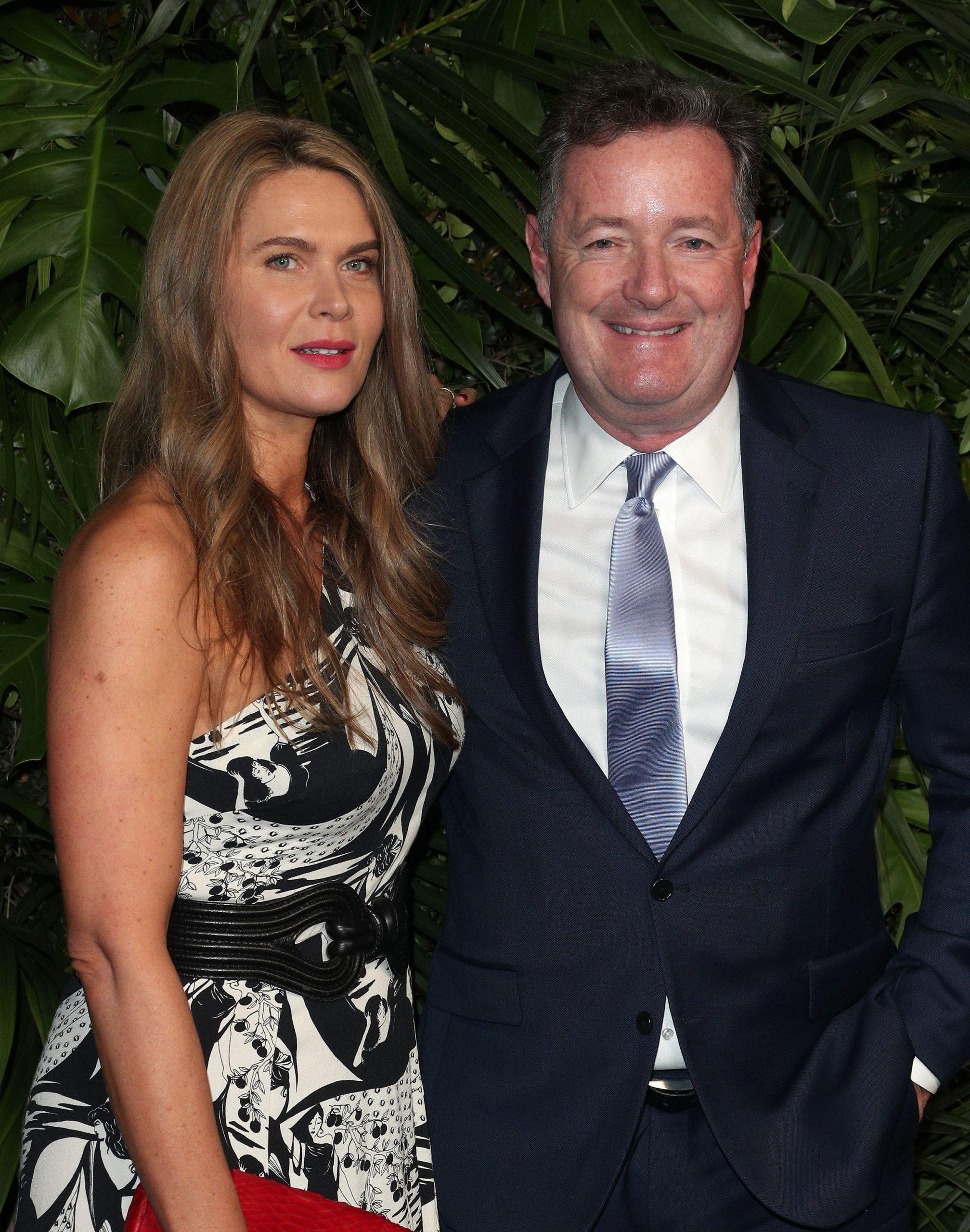 Piers Morgan and wife Celia Walden