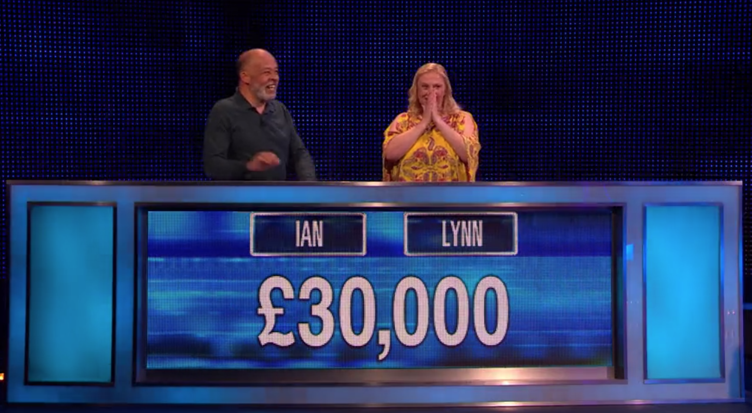 Lynn and Ian on The Chase