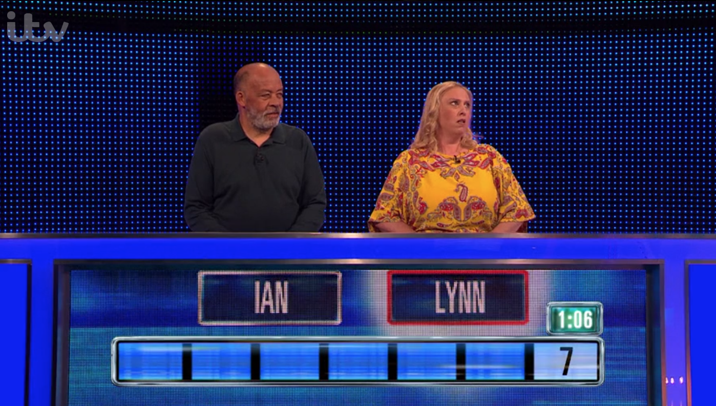 ITV The Chase Lynn and Ian