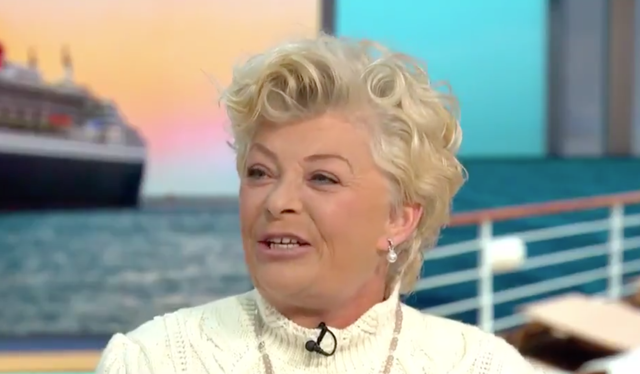Benidorm's Crissy Rock reveals 'terrifying' coronavirus cruise ordeal on honeymoon