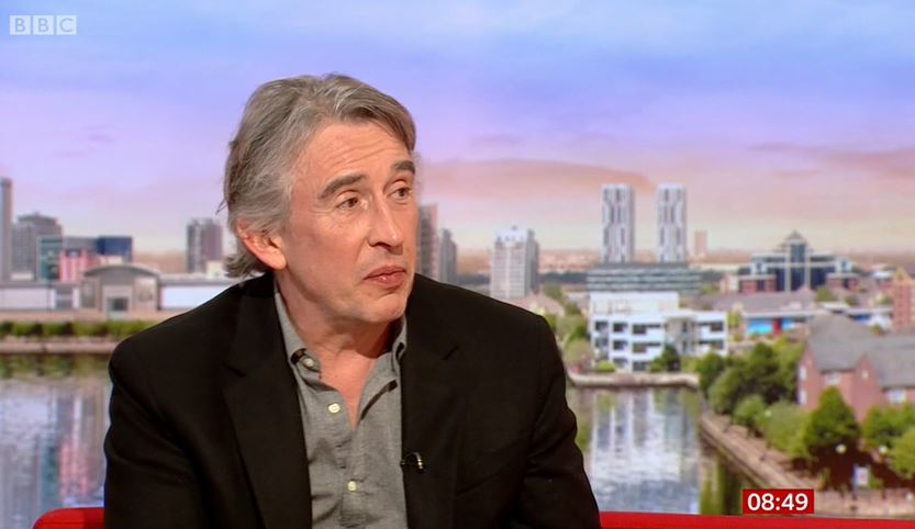 Steve Coogan on BBC Breakfast