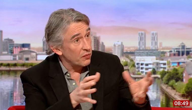 Actor Steve Coogan shuts down BBC Breakfast host Rachel Burden over Caroline Flack question