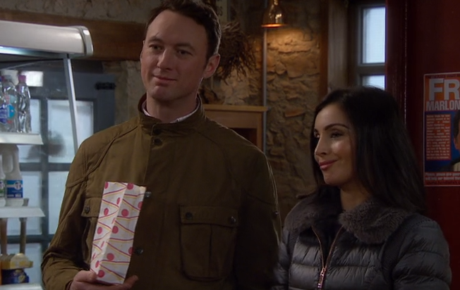 Emmerdale fans 'cringe' at Liam and Leyla's romance scenes