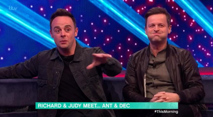 Ant McPartlin laughs off Richard Madeley's 'breakdown' joke on This Morning