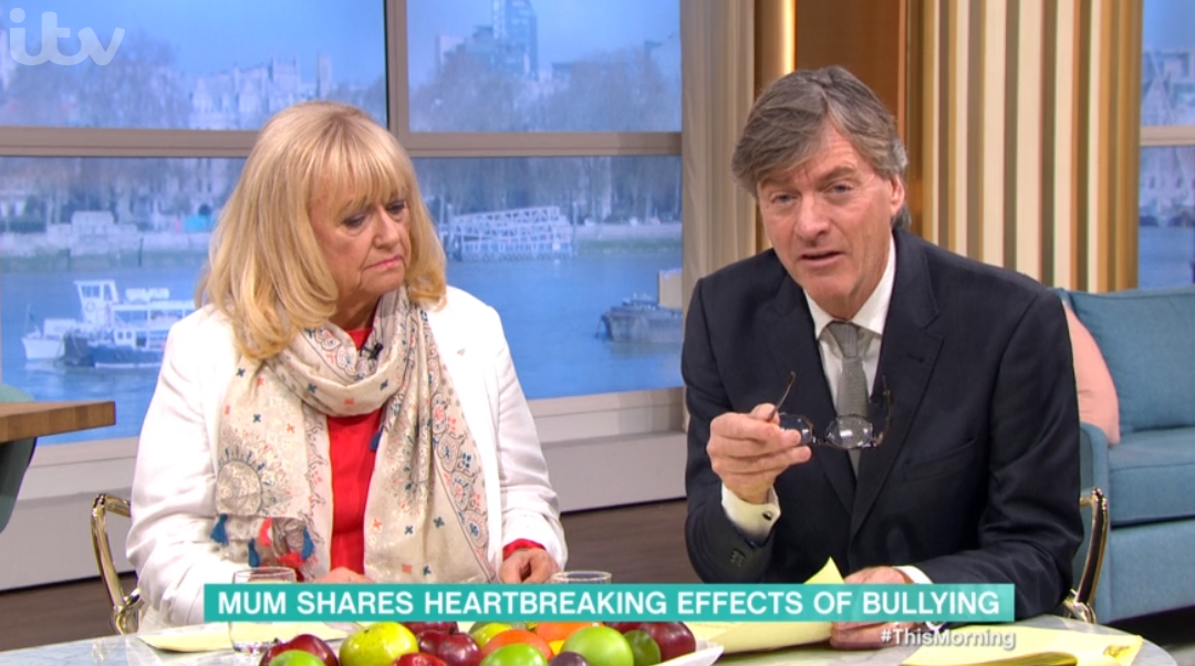 Judy Finnigan and Richard Madeley on This Morning