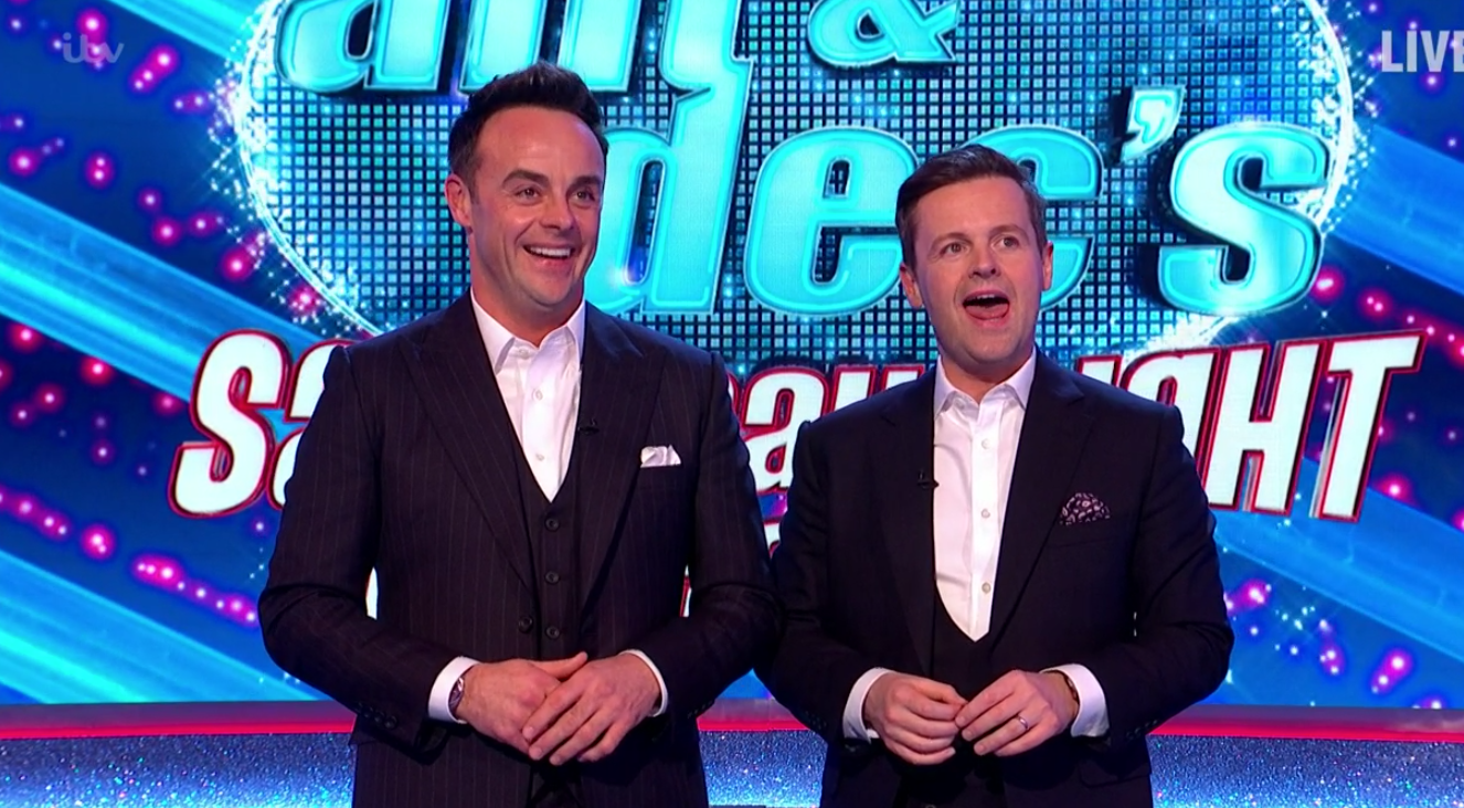 Saturday Night Takeaway: Viewers beside themselves with joy Ant and Dec are back!