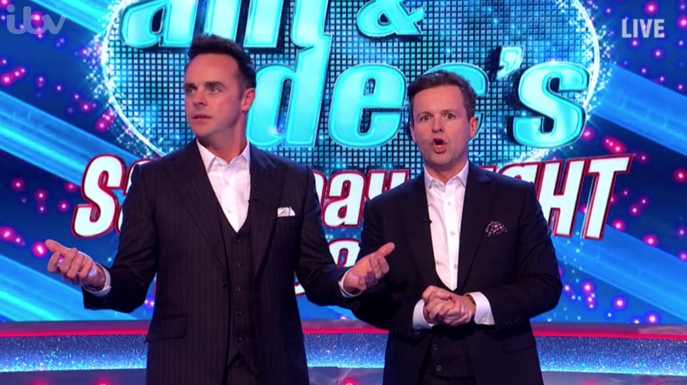 Saturday Night Takeaway viewers spot 'blunder' as host Declan Donnelly confuses shows