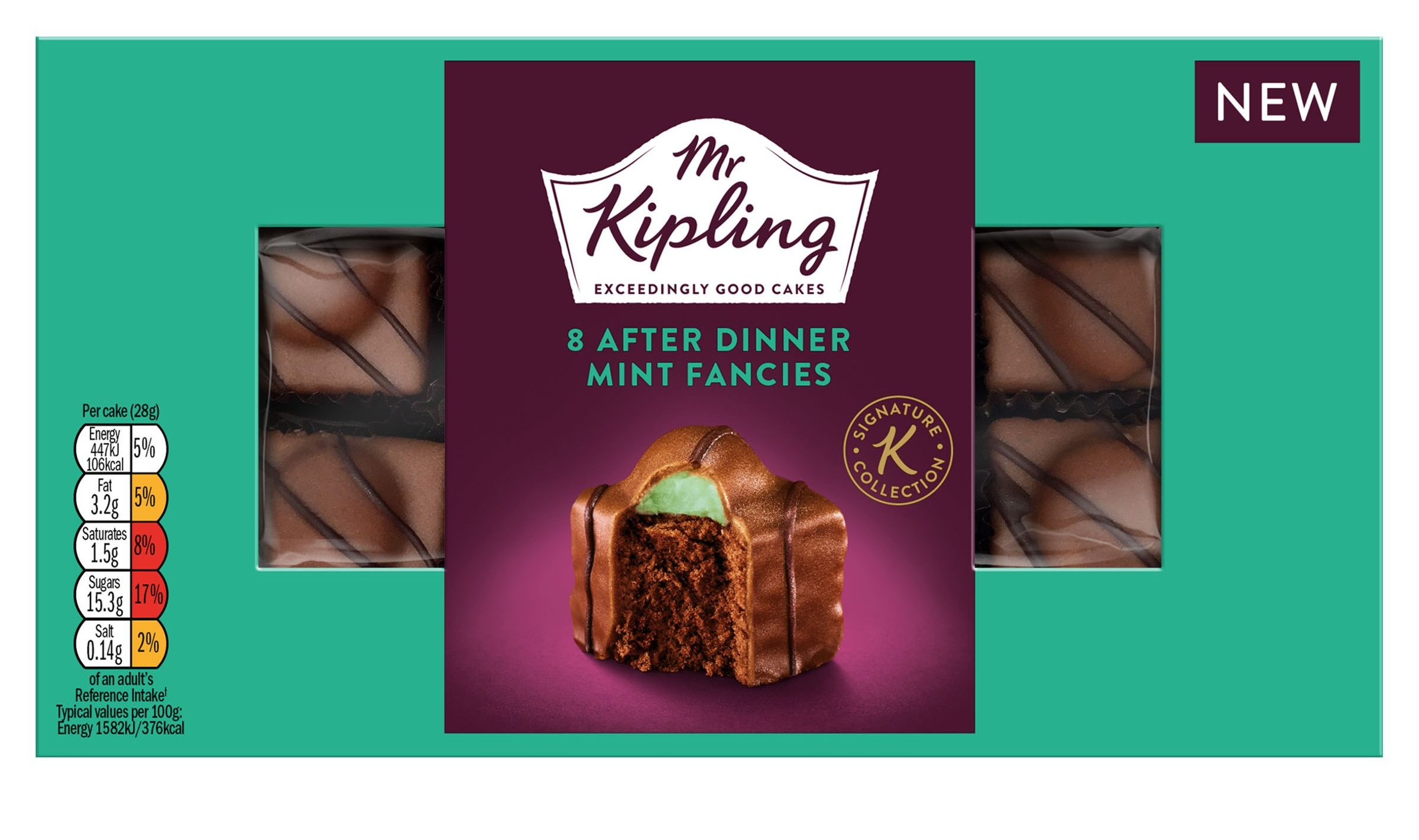 Mr Kipling is selling After Eight-inspired French Fancies and we're obsessed