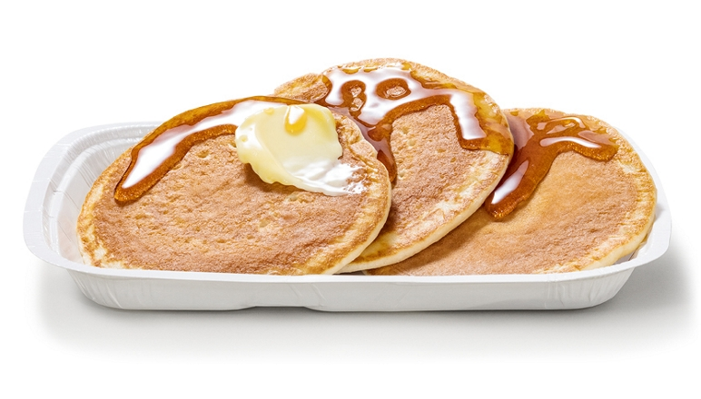 McDonald's is selling its breakfast pancakes ALL DAY today to celebrate Pancake Day