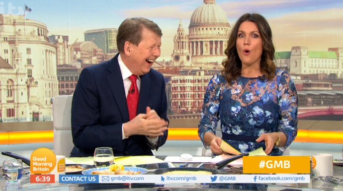 Bill Turnbull makes savage dig at Piers Morgan as he replaces him on GMB