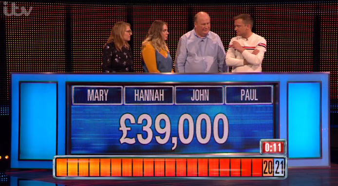 The Chase contestants - Credit: ITV