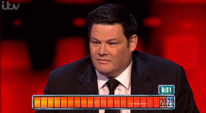 Mark Labbett on The Chase