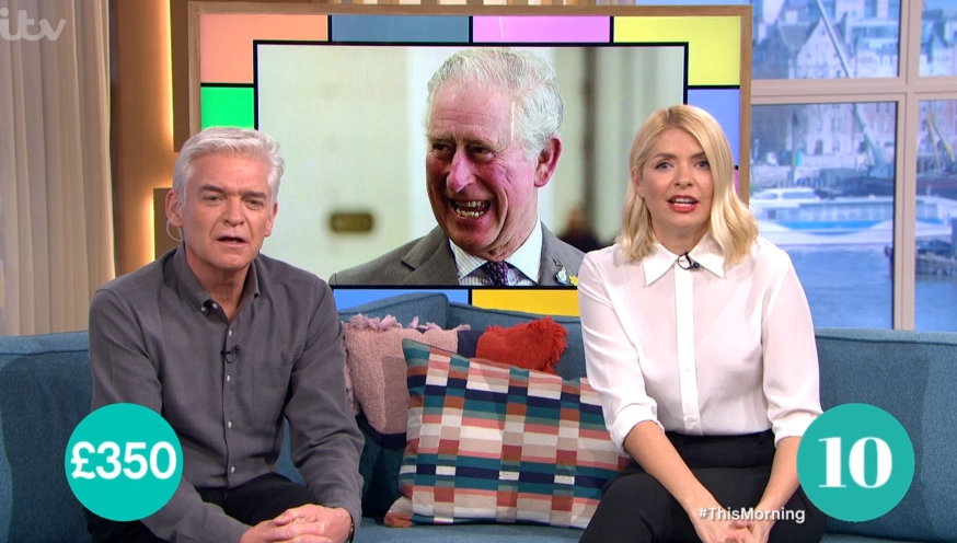 Phillip Schofield and Holly Willoughby on This Morning - Credit: ITV