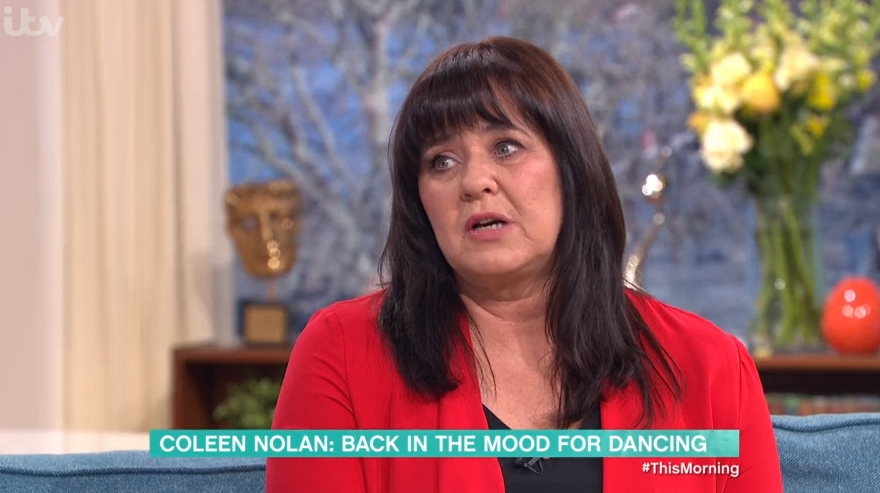 Coleen Nolan shuts down Phillip Schofield over remark about her love life