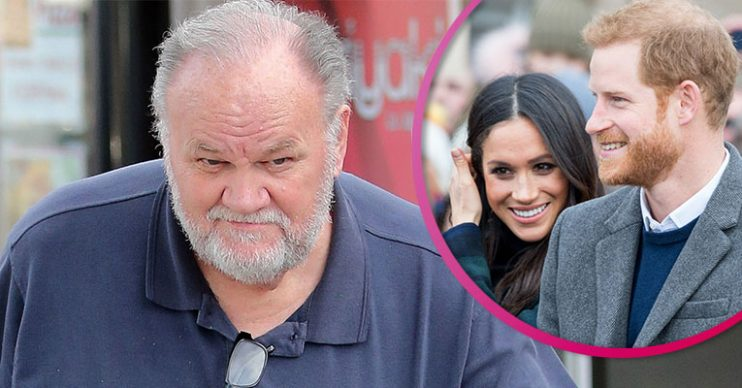 Thomas Markle with Meghan and Harry