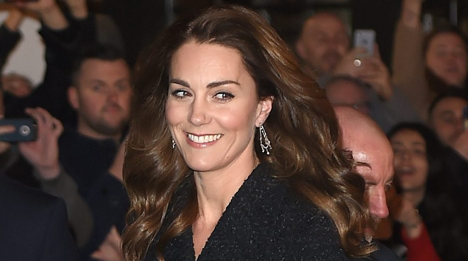 Fans call the Duchess of Cambridge a 'crown jewel' as she dazzles on date night at the theatre