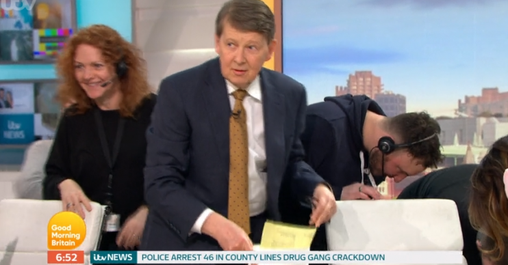 Bill Turnbull on GMB