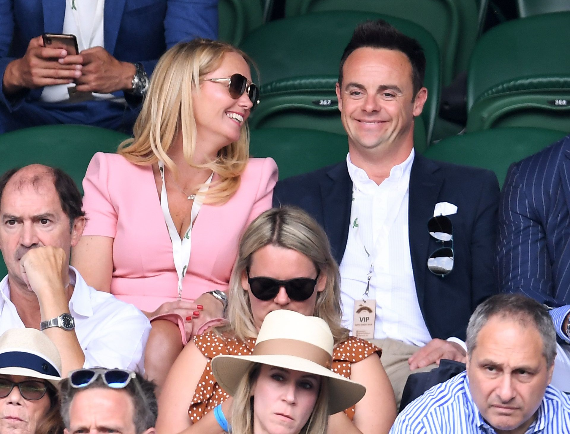 Ant Mcpartlin Calls Girlfriend His Greatest Love Entertainment Daily