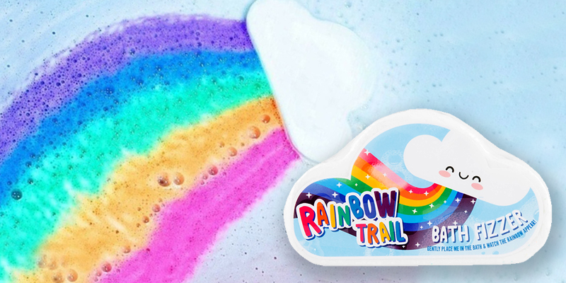 Cloud-shaped bath bombs that leave behind a 'rainbow trail' are on sale for just £1