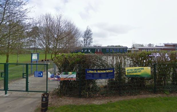 Lutton St Nicholas primary school