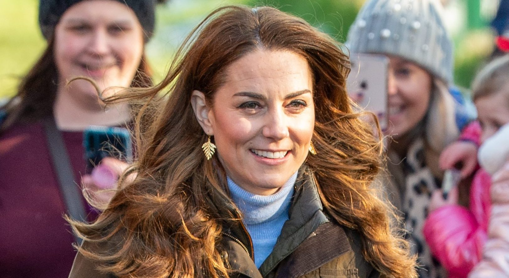 The Duchess of Cambridge looks 'perfect' in M&S trainers and Zara trousers that cost just £6!