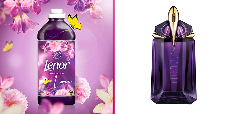 Shoppers say Lenor Exotic Bloom fabric