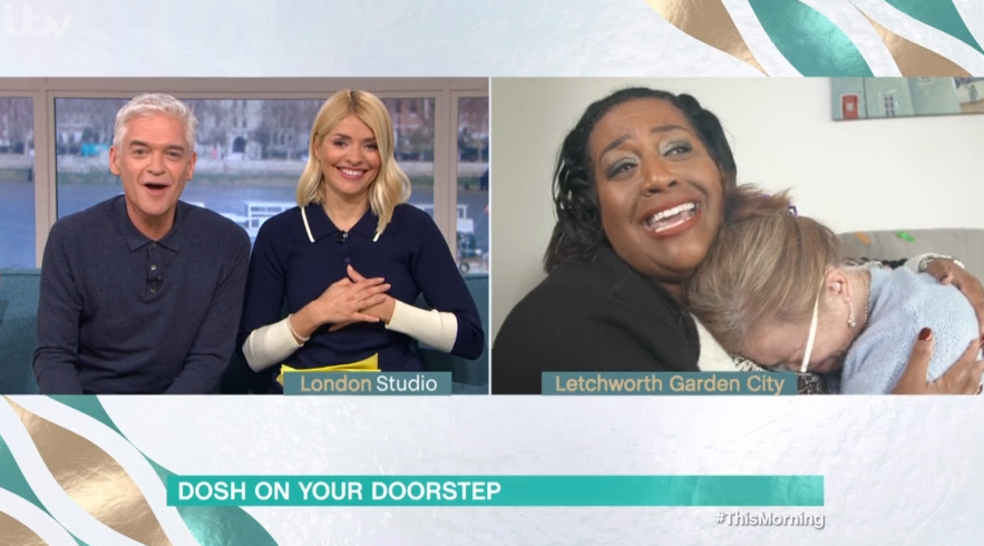 Alison Hammond emotional over Phil and Holly's touching gesture to disabled This Morning guest