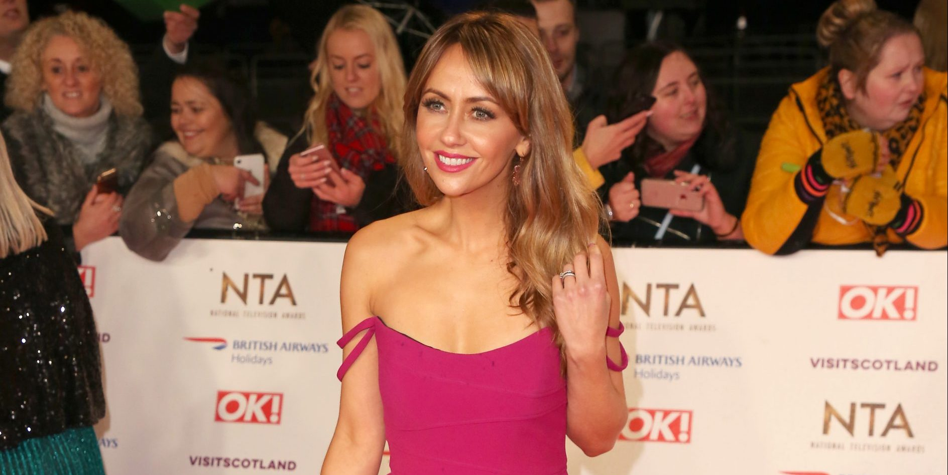 Coronation Street's Samia Longchambon posts stunning picture from Switzerland with daughter Freya