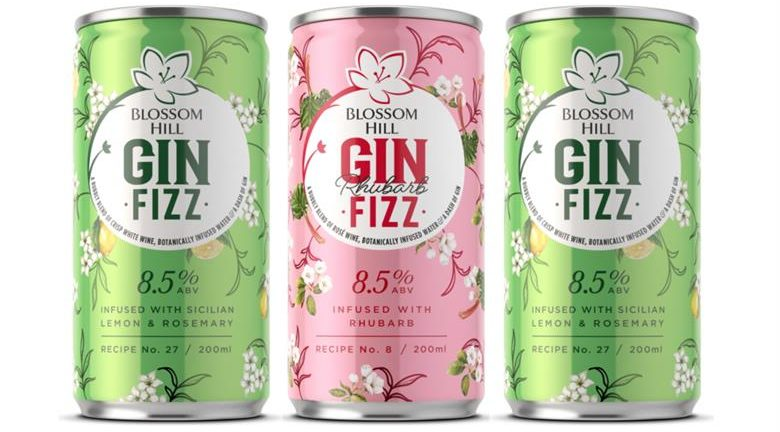 Blossom Hill's 'delicious' Gin Fizz range will now be available in £2.50 cans