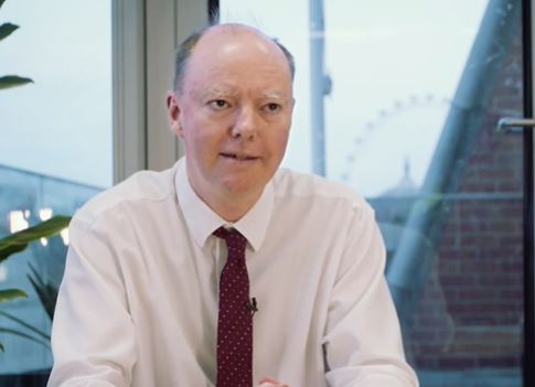 Chris Whitty, Chief Medical Officer for England