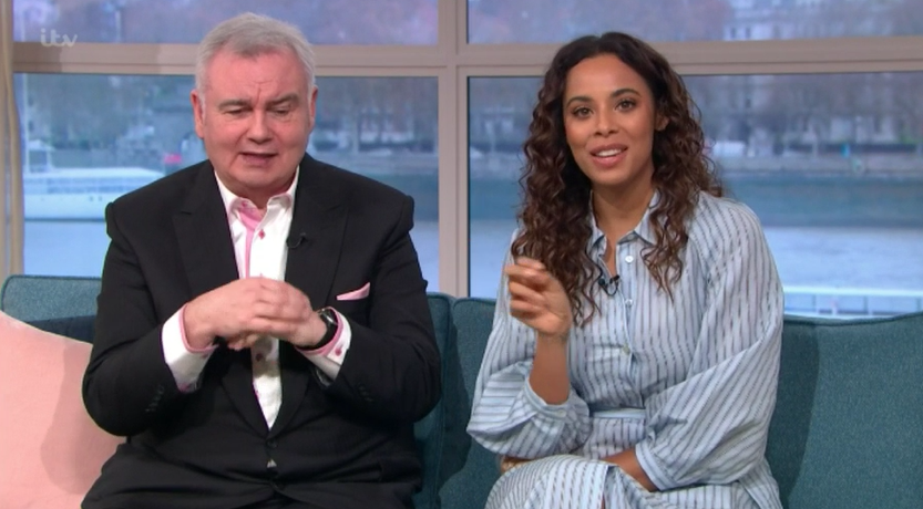 Rochelle Humes and Eamonn Holmes on This Morning