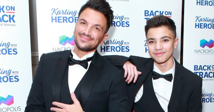 peter andre son junior