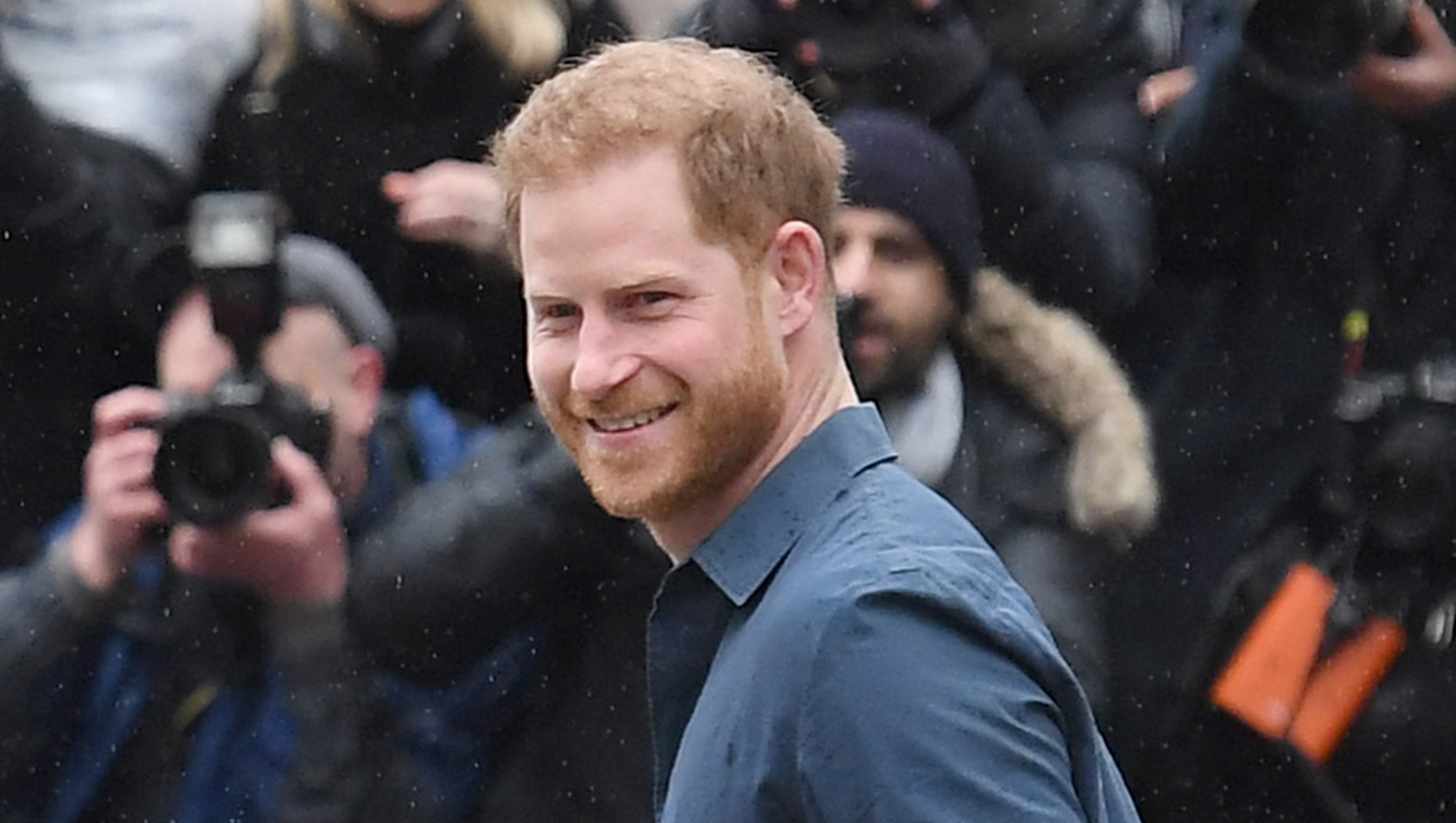 Prince Harry 'booked out entire first class carriage' after environmental speech