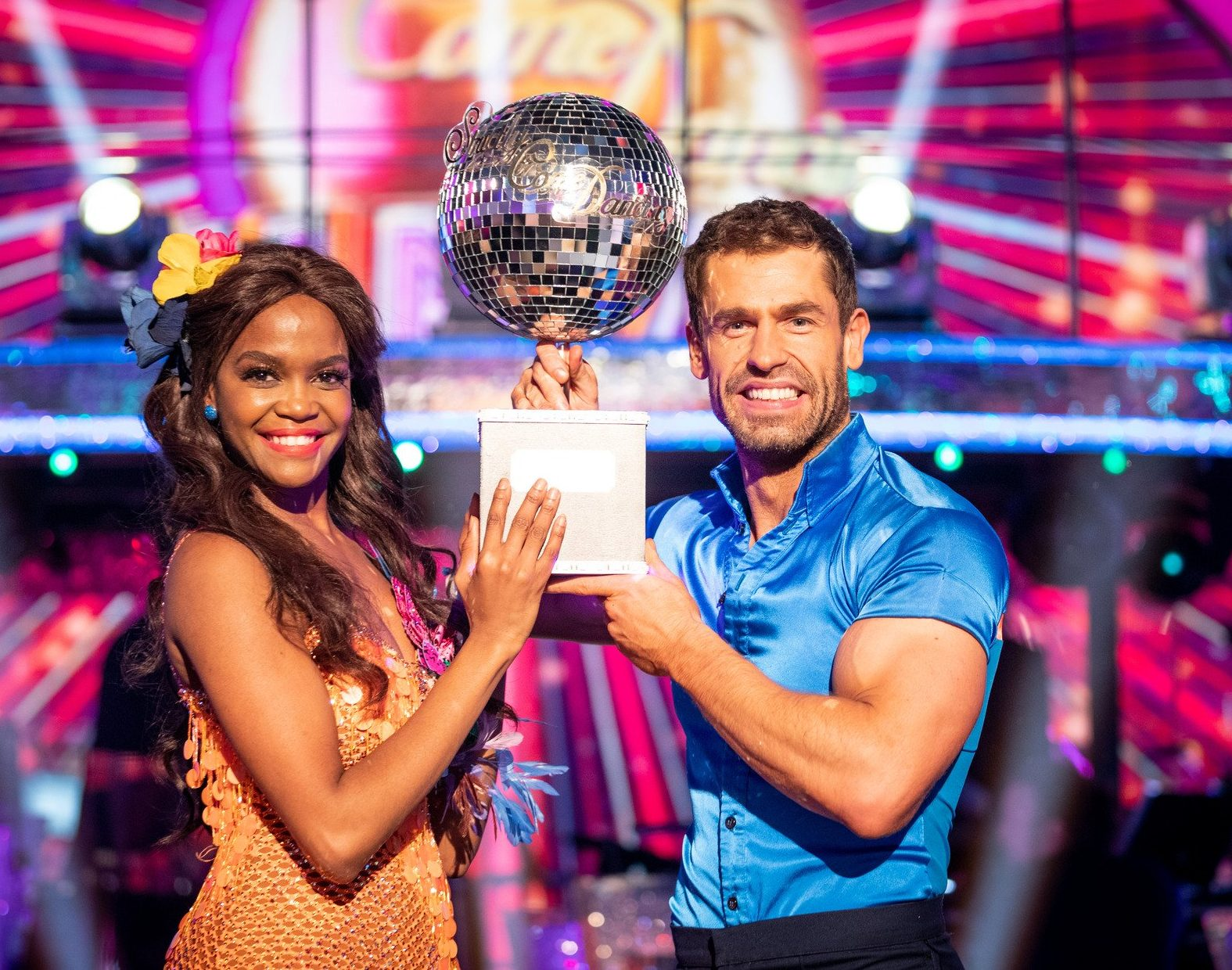 BBC Strictly Oti and Kelvin