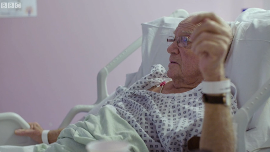 Screengrab from BBC's Hospital