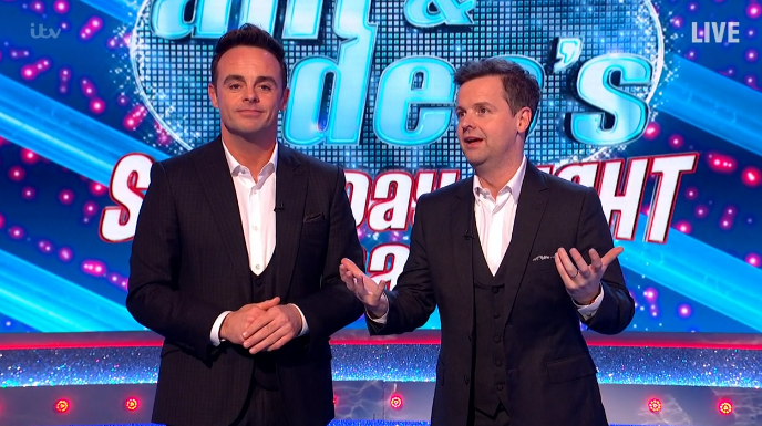 Saturday Night Takeaway viewers unimpressed with Ant's antics during opening of show