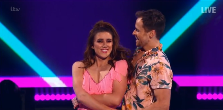 Dancing On Ice fans divided over Libby Clegg's solo skate
