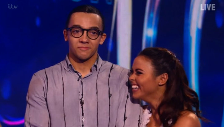 Dancing on Ice: Perri Kiely almost in tears as he scores first perfect 40