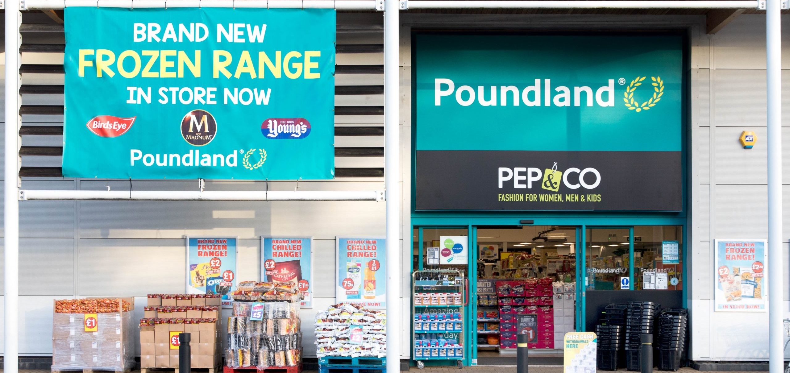 Bargain hunters 'thrilled' as Poundland announces it'll sell frozen food in 60 of its UK stores
