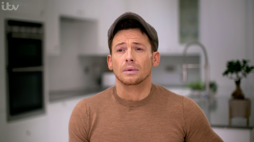 Joe Swash chokes up as he performs for late dad on Dancing On Ice
