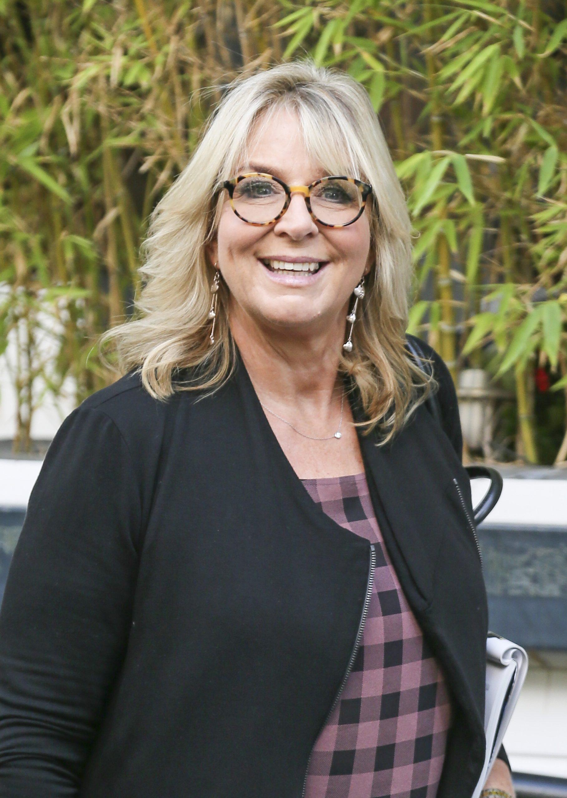 Fern Britton has poken about her marriage split